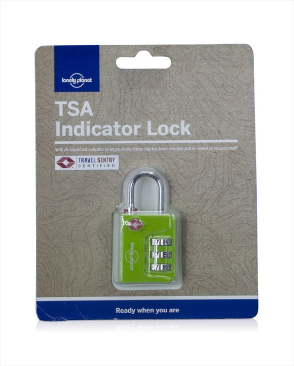 TSA LOCK INDICATOR LIME - Charles Darwin University Bookshop  - 1