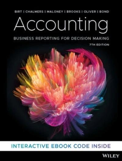 ACCOUNTING: BUSINESS REPORTING FOR DECISION MAKING 7TH EDITION