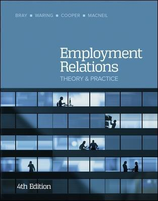 EMPLOYMENT RELATIONS 4TH EDITION
