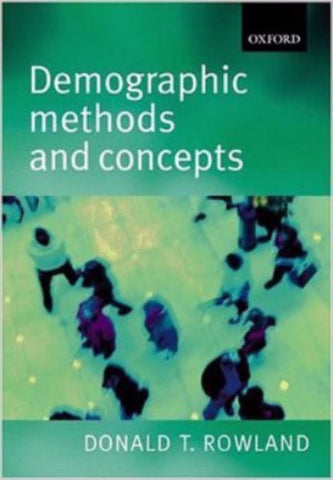DEMOGRAPHIC METHODS AND CONCEPTS - Charles Darwin University Bookshop