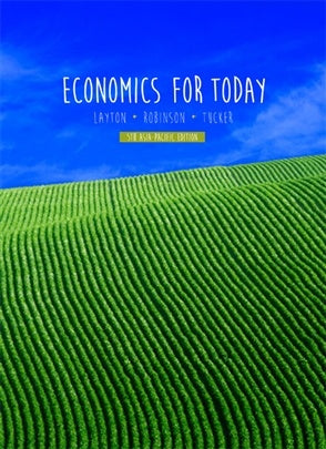ECONOMICS FOR TODAY WITH STUDENT RESOURCE ACCESS 12 MONTHS AND APLIA NOTIFICATION CARD