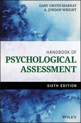 HANDBOOK OF PSYCHOLOGICAL ASSESSMENT - Charles Darwin University Bookshop