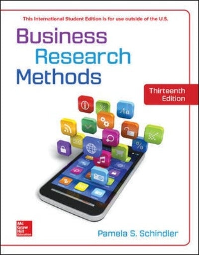 BUSINESS RESEARCH METHODS 13TH EDITION