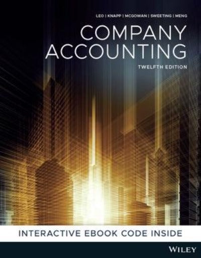 COMPANY ACCOUNTING 12TH EDITION