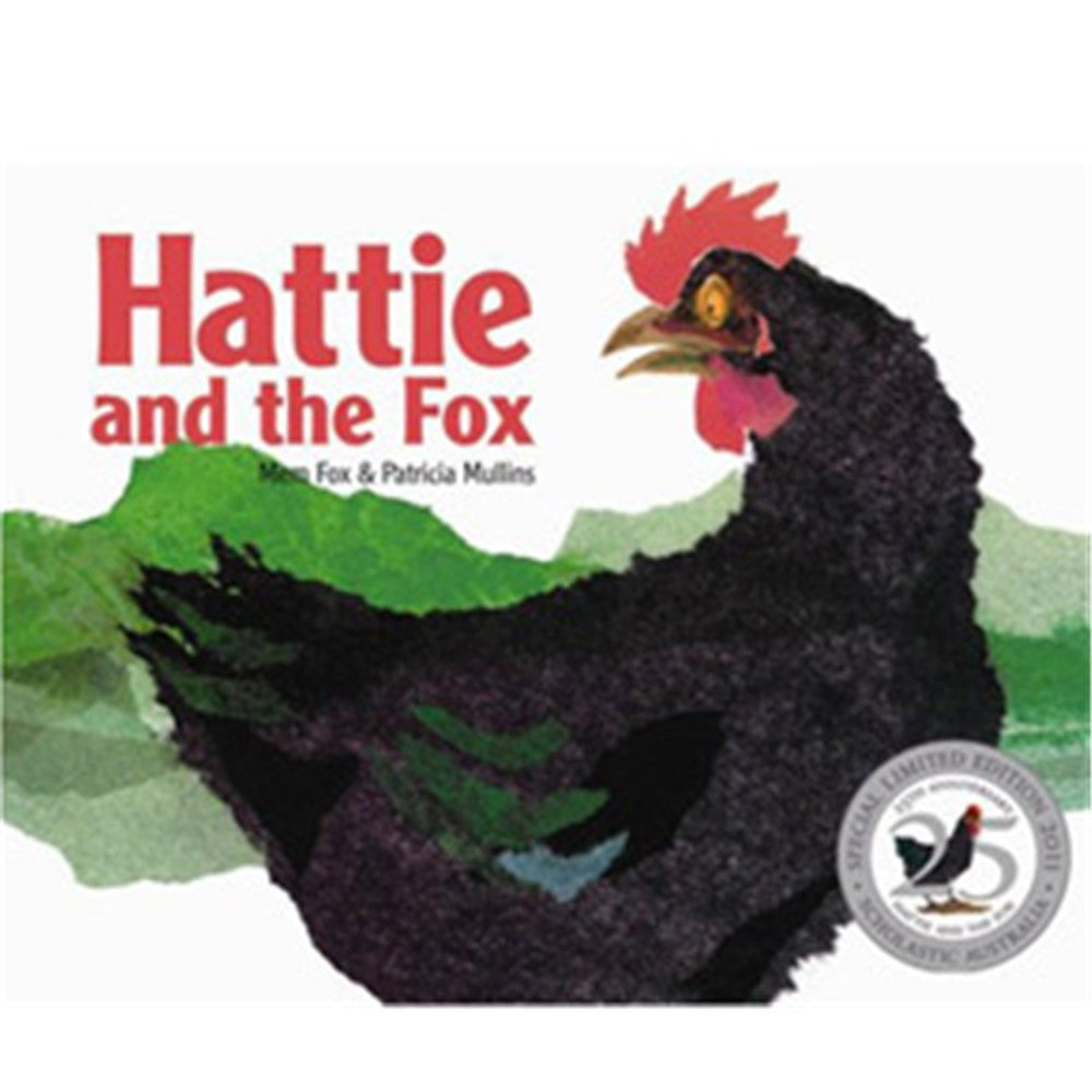 HATTIE AND THE FOX 25TH ANNIVERSARY - Charles Darwin University Bookshop