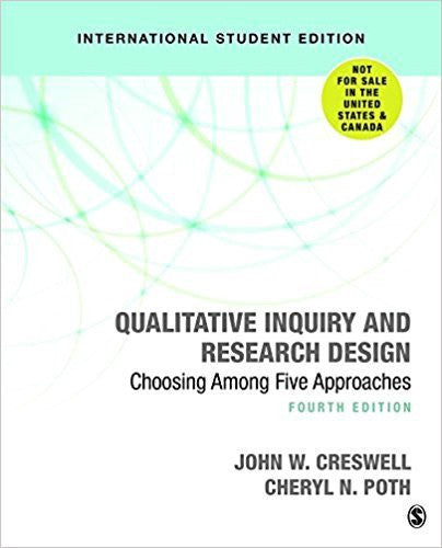 QUALITATIVE INQUIRY AND RESEARCH DESIGN CHOOSING FIVE APPROACHES