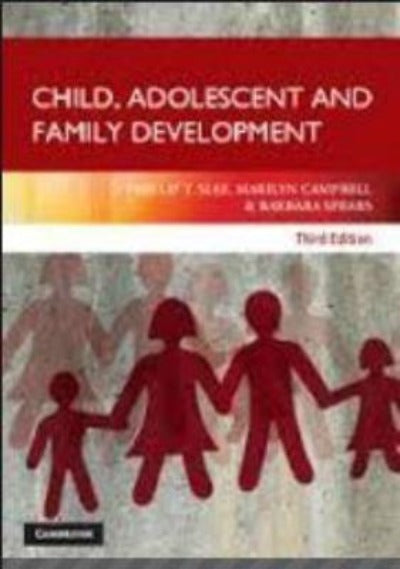 CHILD ADOLESCENT AND FAMILY DEVELOPMENT - Charles Darwin University Bookshop