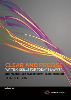 CLEAR & PRECISE WRITING SKILLS FOR TODAYS LAWYER