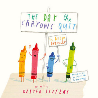 THE DAY THE CRAYONS QUIT - Charles Darwin University Bookshop