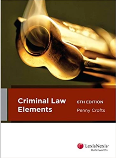 CRIMINAL LAW ELEMENTS 6TH EDITION