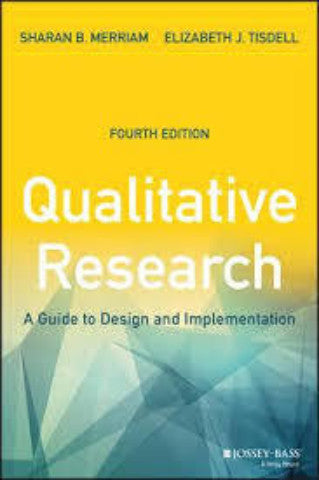 QUALITATIVE RESEARCH: A GUIDE TO DESIGN AND IMPLEMENTATION - Charles Darwin University Bookshop