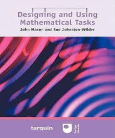 DESIGNING & USING MATHEMATICAL TASKS - Charles Darwin University Bookshop