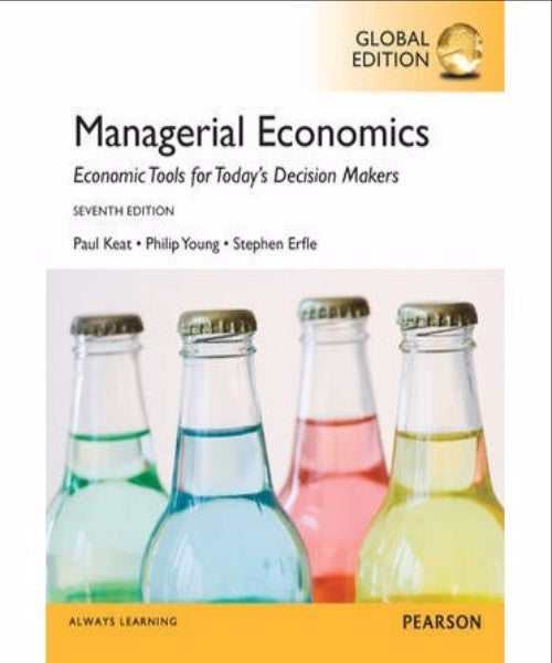 MANAGERIAL ECONOMICS INTERNATIONAL EDITION - Charles Darwin University Bookshop