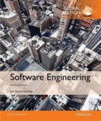 SOFTWARE ENGINEERING 10TH EDITION - Charles Darwin University Bookshop