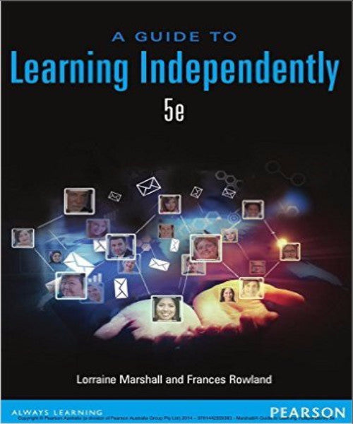 GUIDE TO LEARNING INDEPENDENTLY - Charles Darwin University Bookshop
