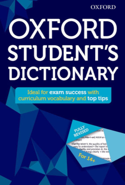 OXFORD STUDENT'S DICTIONARY - Charles Darwin University Bookshop