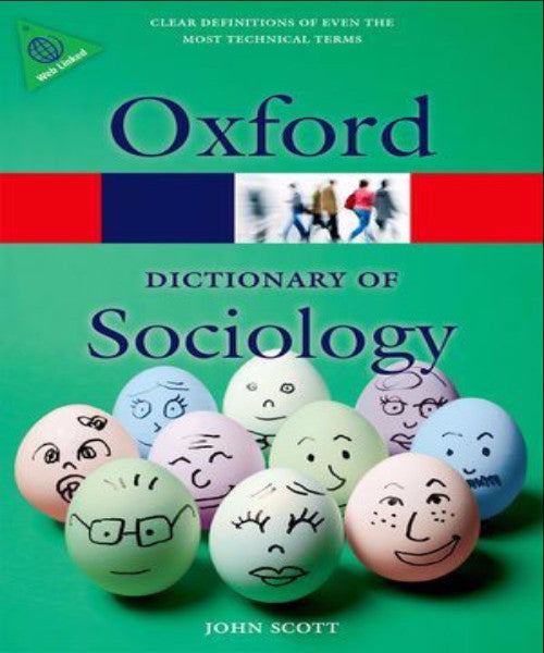 A DICTIONARY OF SOCIOLOGY - Charles Darwin University Bookshop