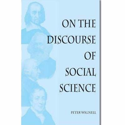 ON THE DISCOURSE OF SOCIAL SCIENCE - Charles Darwin University Bookshop