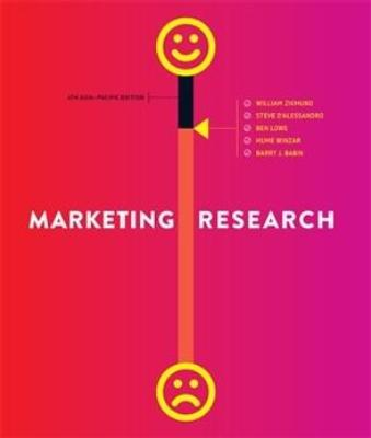 MARKETING RESEARCH: ASIA-PACIFIC EDITION WITH STUDENT RESOURCE ACCESS 6 MONTHS - Charles Darwin University Bookshop
