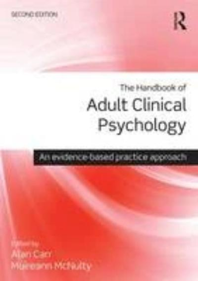 THE HANDBOOK OF ADULT CLINICAL PSYCHOLOGY: AN EVIDENCE BASED PRACTICE APPROACH
