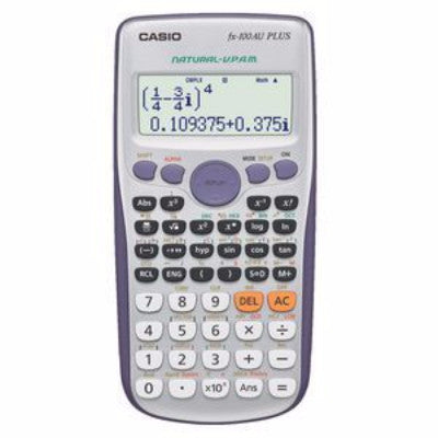 CASIO FX100AUPLUS CALCULATOR - Charles Darwin University Bookshop