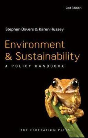 ENVIRONMENT AND SUSTAINABILITY A POLICY HANDBOOK