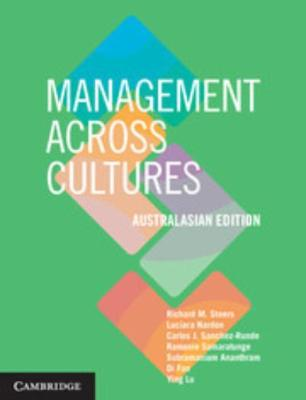 MANAGEMENT ACROSS CULTURES - AUSTRALASIAN EDITION