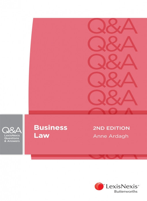 LEXISNEXIS QUESTIONS AND ANSWERS - BUSINESS LAW - Charles Darwin University Bookshop