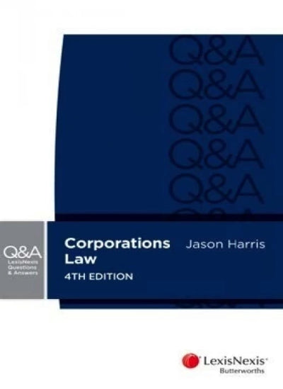 CORPORATIONS LAW LEXIS NEXIS QUESTIONS & ANSWERS