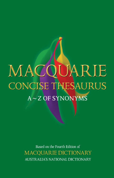 MACQUARIE CONCISE THESAURUS