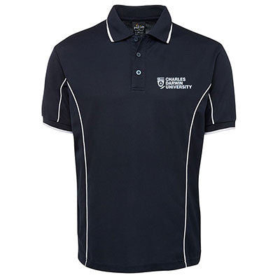 40fe08080 CDU NAVY MENS POLO WITH PIPING - Charles Darwin University Bookshop ...