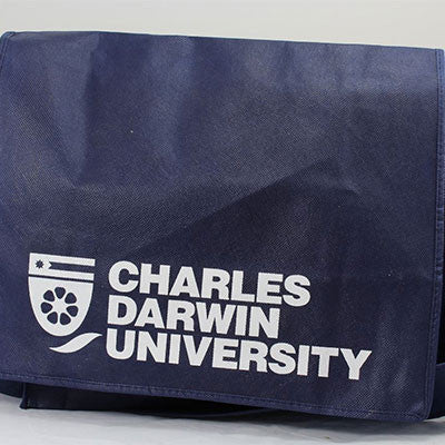 CDU MESSENGER ECO BAG - Charles Darwin University Bookshop