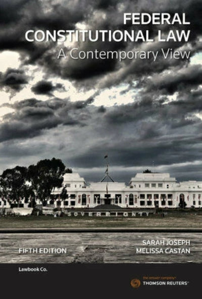 FEDERAL CONSTITUTIONAL LAW A CONTEMPORARY VIEW 5TH EDITION