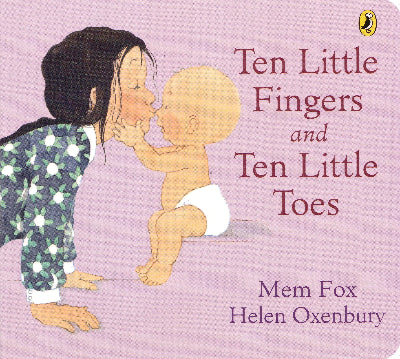TEN LITTLE FINGERS & TEN LITTLE TOES BOARD BOOK