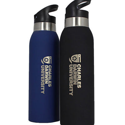 CDU THERMO STAINLESS STEEL DRINK BOTTLE 500ml - Charles Darwin University Bookshop