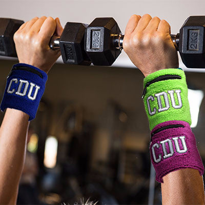 CDU SWEAT WRIST BAND WITH ZIP