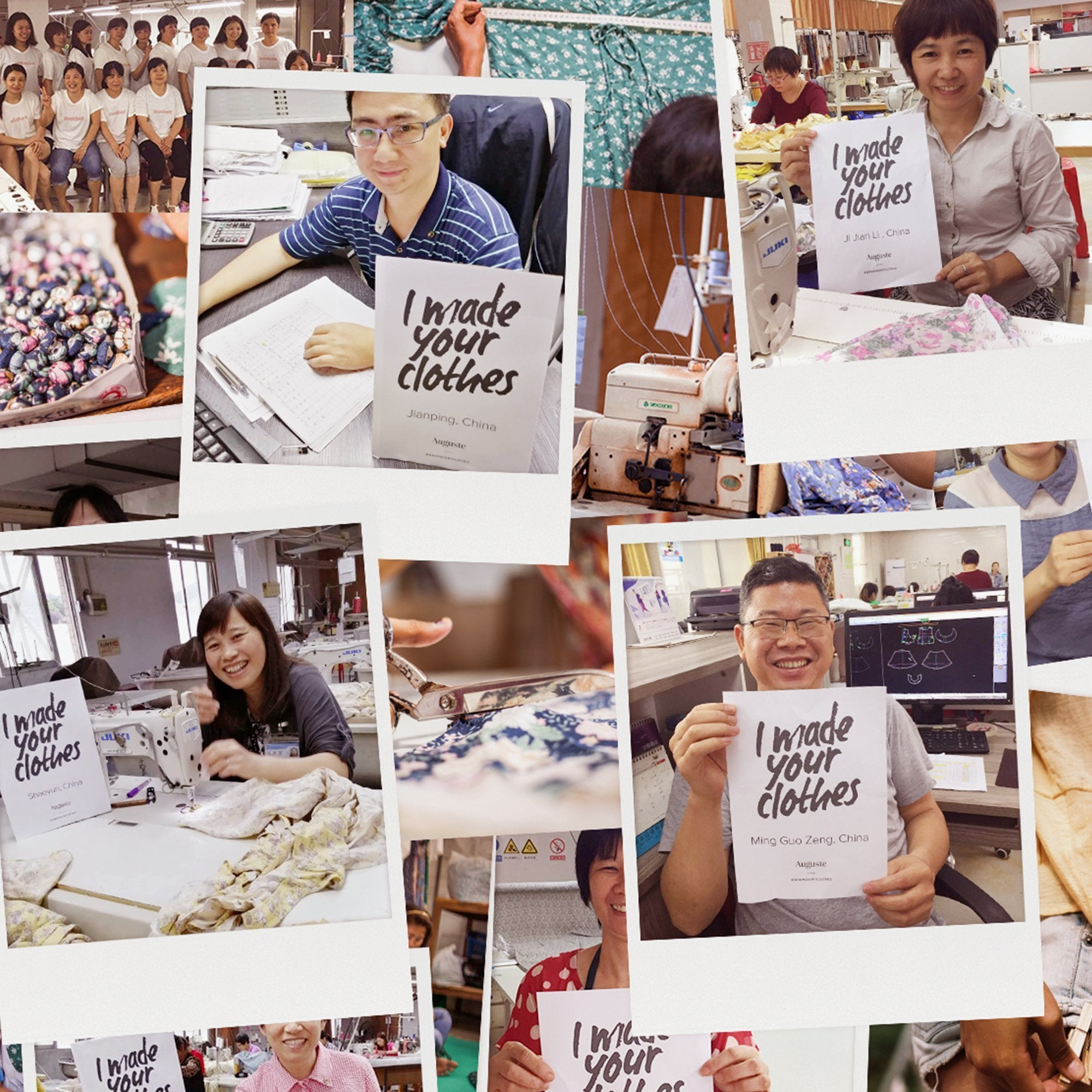 FASHION REVOLUTION: WHO MADE MY CLOTHES