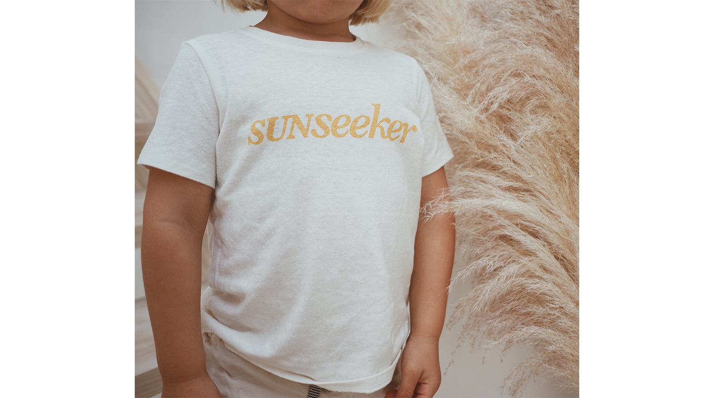 Sunseeker Tee White