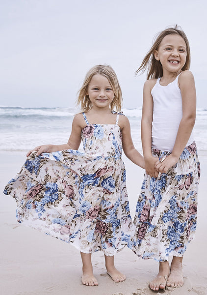 Little Miss Princess Maxi Dress Texan Bloom Natural