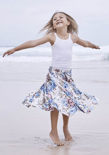 Little Miss Maxi Skirt Texan Bloom Natural