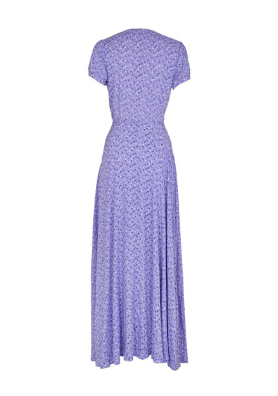 Daphne Easy Days Wrap Maxi Dress Lavender - Auguste The Label