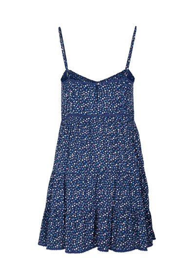 Daphne Easy Days Mini Dress Navy - Auguste The Label