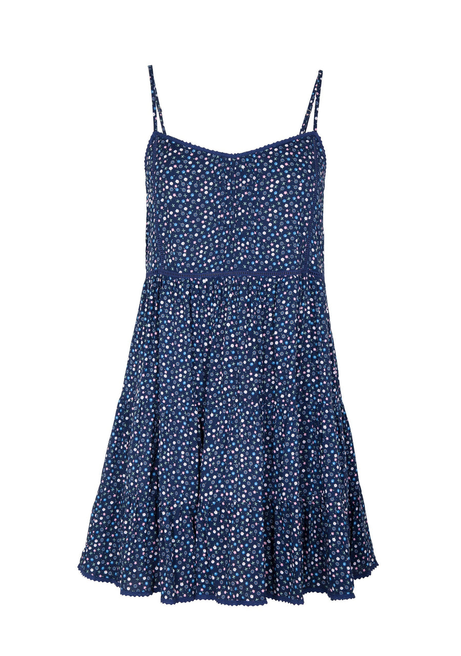 Daphne Easy Days Mini Dress Navy