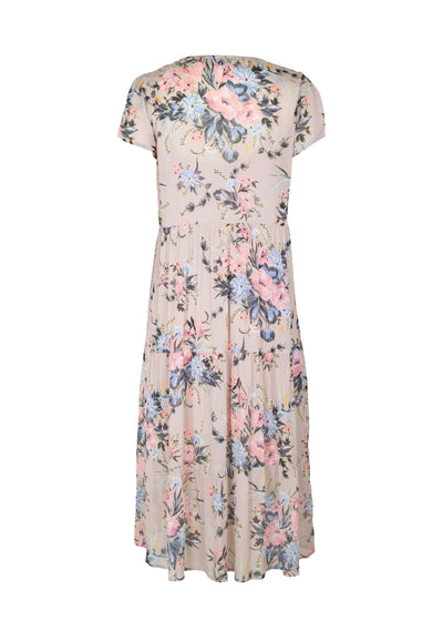 Scarlett Fine Day Dress Blush - Auguste The Label