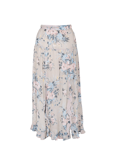 Scarlett Fine Maxi Skirt Blush - Auguste The Label