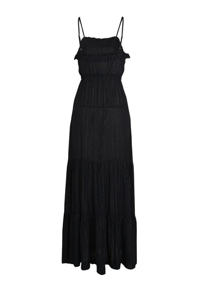 Luella Fleur Maxi Dress Black - Auguste The Label