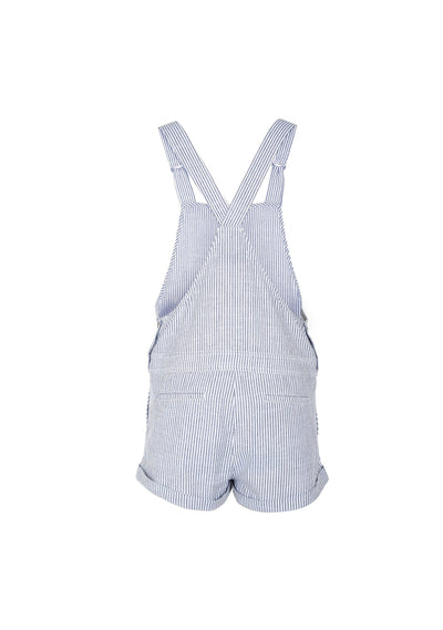 Lucy Short Overalls Stripe- Auguste The Label