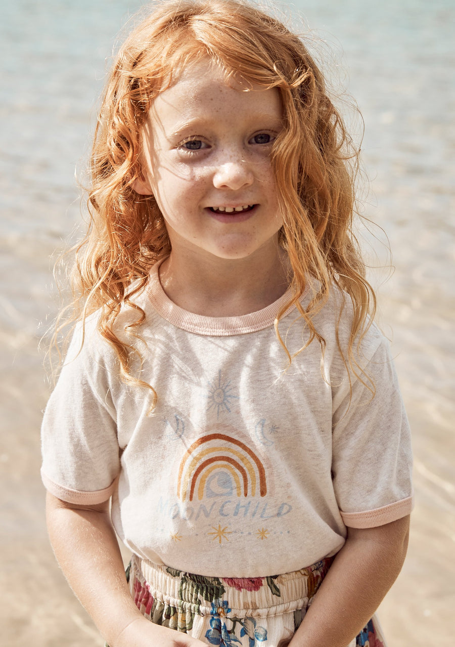 Little Auguste Moon Child Tee - Auguste The Label
