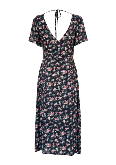 Roxy Lady Dress 90s Ditsy Floral Black - Auguste The Label