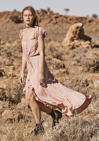 Willow Day Dress Blush